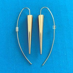 EUC Anne Klein Spike Drop Earrings